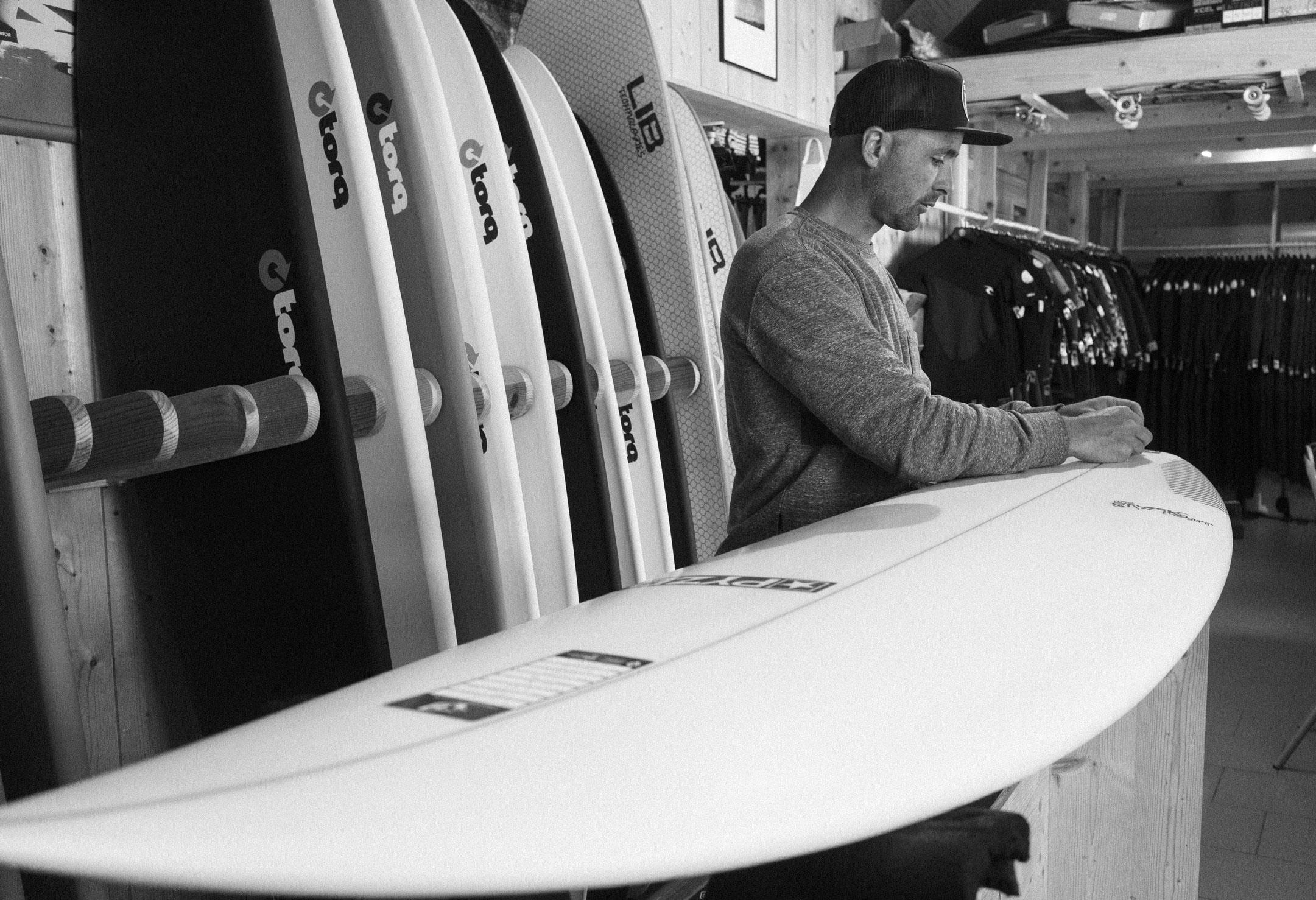 Surf-shop et ecole de surf messanges