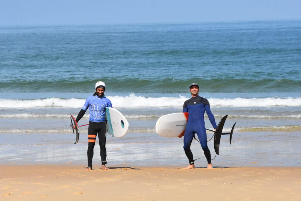 foil-initiation-desert-point-ecole-surf-messanges-landes